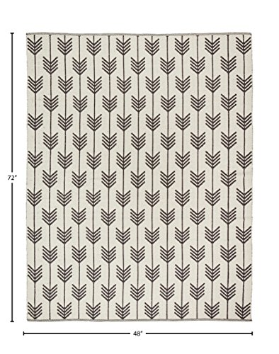 Rivet Arrow Wool Area Rug -  - living-room-soft-furnishings, living-room, area-rugs - 513KFjmNujL -