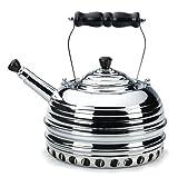 Simplex Beehive Gas Tea Kettle, Chrome