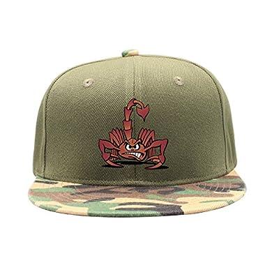 Liujiaxie Angry Scorpion Cartoon Man Camouflage Cap Baseball Caps