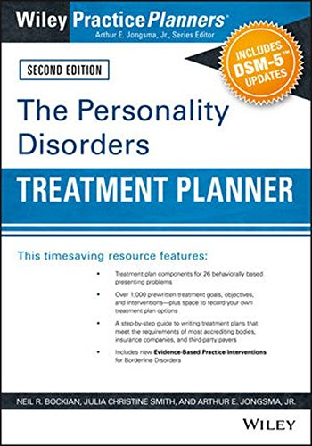 The Personality Disorders Treatment Planner: Includes DSM-5 Updates (PracticePlanners)