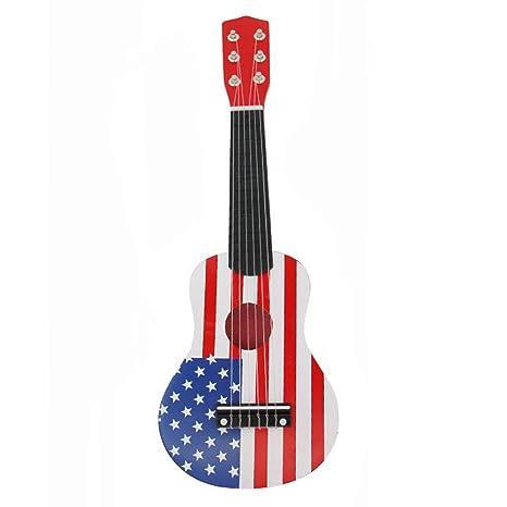 Juguete ukelele guitarra, Kid s Fancy dinámico música guitarra de ...