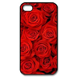 Hard Shell Case Of Colorful Rose Customized Bumper Plastic Case For Samsung Galaxy S5 Cover