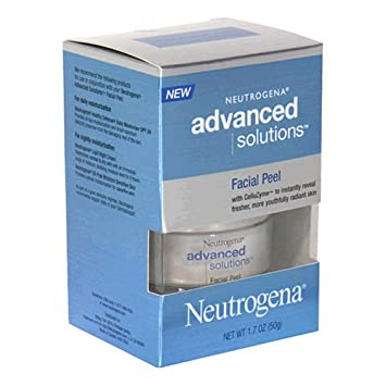 Amazon Com Neutrogena Advanced Solutions Facial Peel 1 7 Ounce