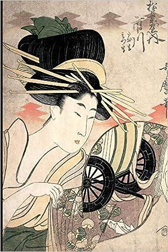 Fantasy Genuine woodprint painting of geishas right! good