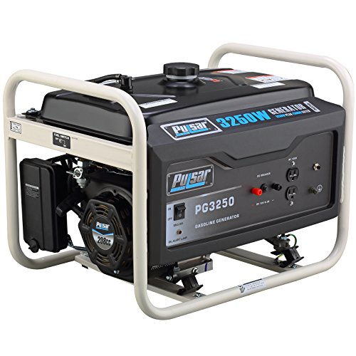 Pulsar PG3250 3250W Peak 2500W Rated Portable Gas-Powered Generator