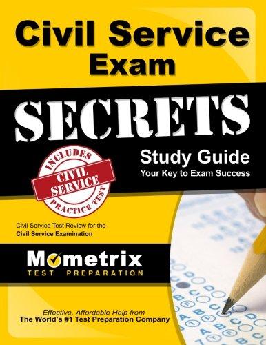 Civil Service Exam Secrets Study Guide: Civil Service Test Review for the Civil Service Examination (Mometrix Secrets Study Guides) (Book Of Civil Service Study Guide compare prices)