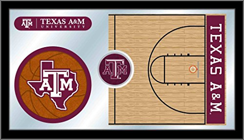 (Holland Bar Stool Co. Texas A&M Basketball Mirror)
