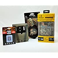 Browning Strike Force Elite HD BTC-5HDE 4GB SD Card Python Cable Security Box