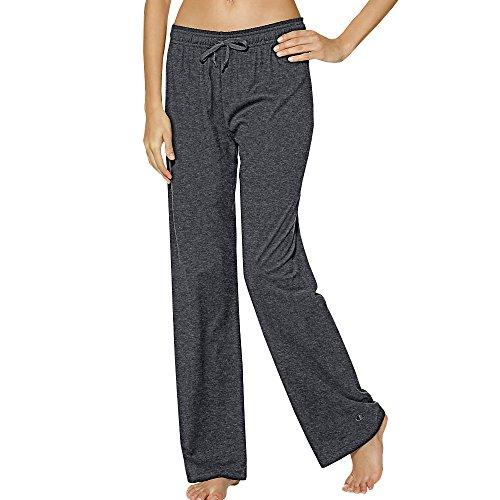 Champion Authentic Women's Jersey Pants_Granite Heather_S