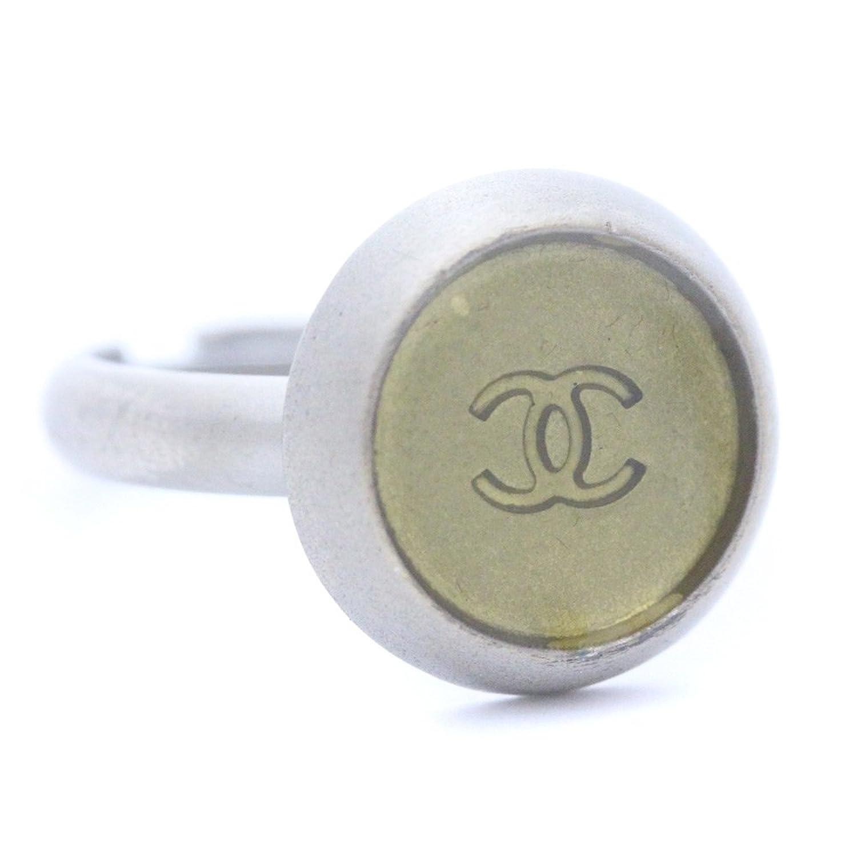 CHANEL[シャネル] ココマーク メタル リング レディース ロゴ 指輪 シルバー(中古) B079178Z1G