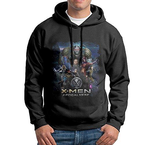 X-Men Apocalypse 2016 Pullover Hooded Mens Black Sweatshirt Hoodie