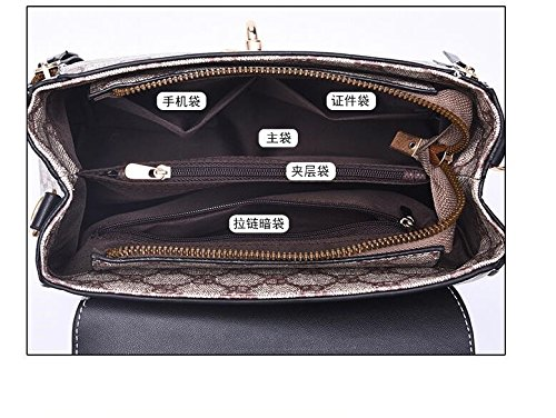 Hombro Simples GWQGZ Bolsos Rayas Moda Oblicuos De Nueva Bolsos Bolsas wxqXx61