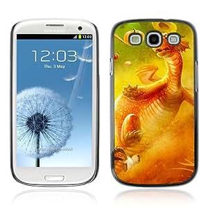 YOYOSHOP [Funny & Cute Dragon] Samsung Galaxy S3 Case