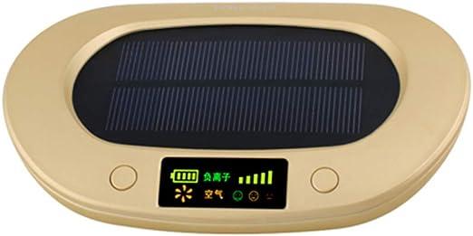 WWK Purificador de Aire Solar 1800mAh, Coche purificador de Aire ...