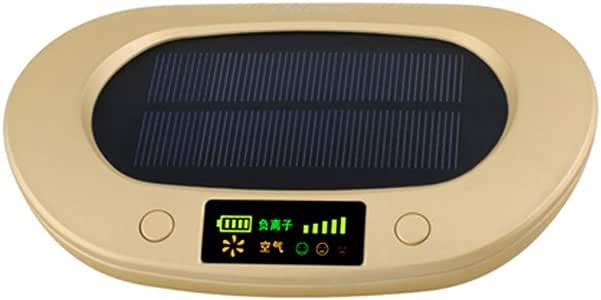 WWK Purificador de Aire Solar 1800mAh, Coche purificador de Aire, aromaterapia de purificación de Aire rápida purificación de Gases nocivos Eliminar PM2.5 formaldehído Apto para Coches: Amazon.es: Hogar