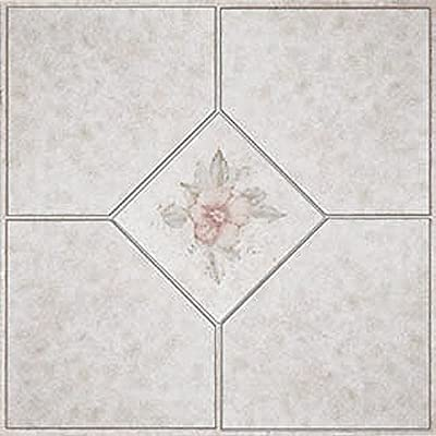 Home Dynamix Vinyl Tile 1002 Beige/ Pink 1 Box 30 Square Feet