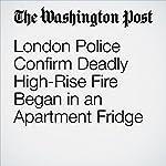 London Police Confirm Deadly High-Rise Fire Began in an Apartment Fridge | Karla Adam