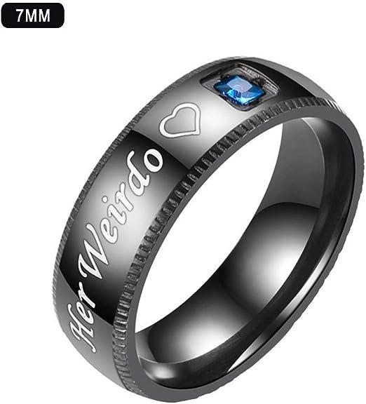 alianza anillos de pareja Nuevo Wolfram anillos negro 6mm de amistad compromiso anillo boda