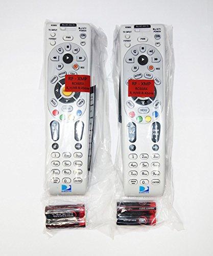 2 Pack - DIRECTV IR / RF Universal Remote Control (RC66RX)