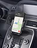 Mpow 051 Car Phone Mount, CD Slot Car Phone Holder, Car Mount with Three-Side Grips and One-Touch Design Compatible iPhone 12/12Mini/12Pro/12Pro Max/11 Series/XR/X/8/8Plus, Galaxy S10/20