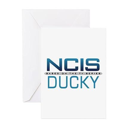 Amazon Cafepress Ncis Logo Ducky Greeting Card Note Card