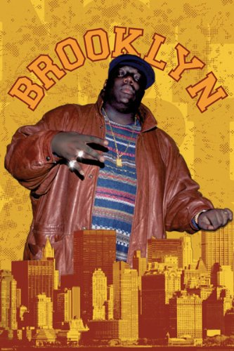 Pyramid America The Notorious B.I.G.-Brooklyn, Music Poster Print, 24 by 36-Inch