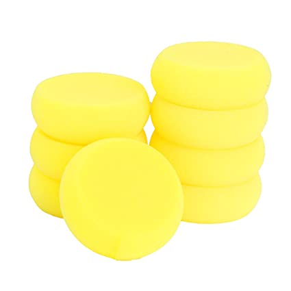 Outus 12 Pack Painting Sponge Synthetic Artist Sponges Watercolor Sponges for Painting Crafts Pottery and More