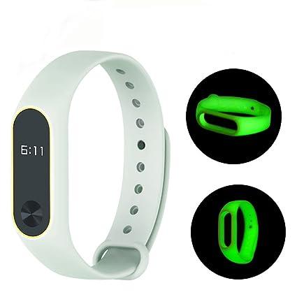 Para Xiaomi banda Sannysis Correa de muñeca TPU de repuesto para Xiaomi Mi Band 2 Bracelet