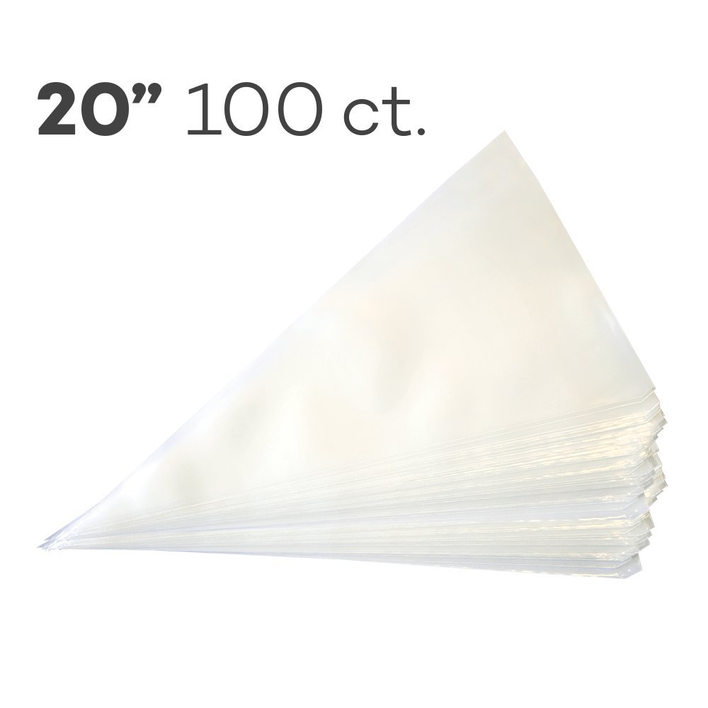 Piping Bags 20'', Pack of 100