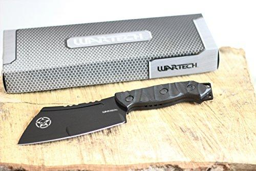 Wartech HWT221 Full Tang Punisher Skull Fixed Blade Cleaver