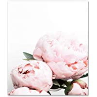 Nordic Poster Canvas Paintings Home Decorative Plant Pink Peony Flower Pictures Printed Poster For Living Room Wall Art B