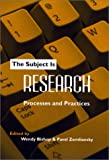 img - for The Subject Is Research: Processes and Practices book / textbook / text book