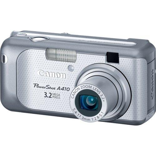 amazon com canon powershot a410 3 2mp digital camera with 3 2x rh amazon com Canon Rebel T2i Camera Manuals Manual Canon 35Mm Cameras