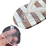 toe protector inserts - Flyusa 2 Pairs Soft Silicone Flip Gel Cushions Pad Toe Protectors for Thong Sandal Flip Flop Gel Inserts Guards Insoles Shoes Grip Pads