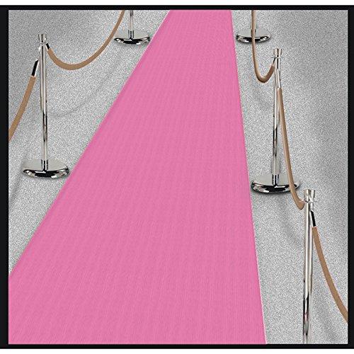 Amscan 340150 パーティー用品 デイインパリ ピンク フロアランナー 15フィート x 2フィート マルチカラー   B06XG2HJNH