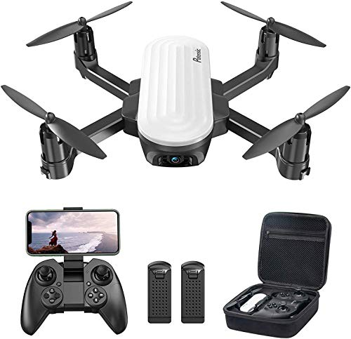 Potensic Elfin Drones with Camera for Adults, 2K FPV Foldable Drone for Kids with Gravity Sensor, Trajectory Flight…