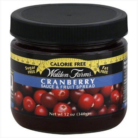 Walden Farms Cranberry Sauce and Fruit Spread, 12 Ounce -- 6 per case.