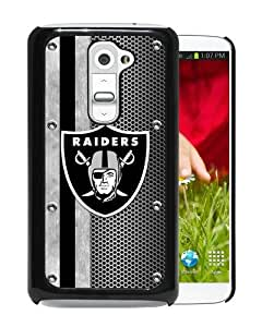 Hot Sale LG G2 Case,Oakland Raiders 04 Black LG G2 Screen Phone Case Durable and Cool Design
