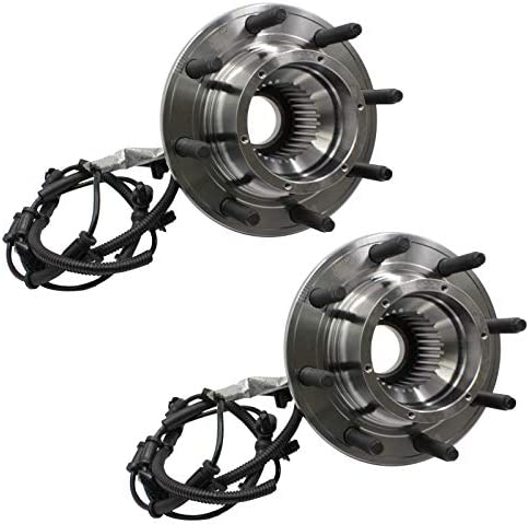 LAFORMO 515182 Front Wheel Hub and Bearing Assembly W//ABS 8 Studs Replacement for 2017 2018 2019 Ford F-250 F250// 2017 2018 2019 F-350 F350 Super Duty