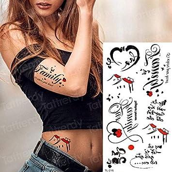 4 Unids, Tatuaje Temporal Del Cuerpo Tatuaje Sexy Para Mujer ...