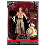 Star Wars 6'' Elite Series Die-Cast Figure Rey with Lightsaber and BB-8 (Episode VII: A Force Awakens)