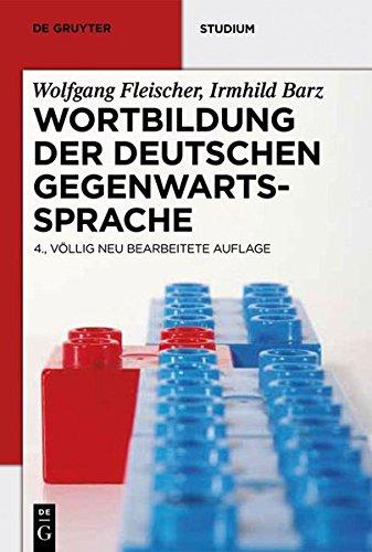 Wortbildung der deutschen Gegenwartssprache (De Gruyter Studium) Taschenbuch – 30. Januar 2012 Wolfgang Fleischer 3110256630 für die Hochschulausbildung Germanistik