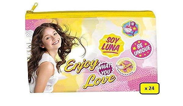 PARTYLANDIA Box 24 Estuches soyluna de Almacenamiento, Disney Soy Luna: Amazon.es: Hogar