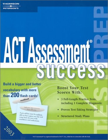 ACT Assessment Success 2003 Petersons