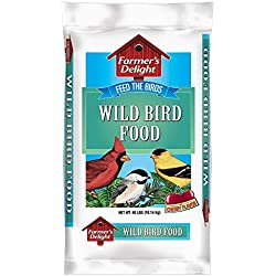 Wagner's 53005 Farmer's Delight Wild Bird Food, 40-Pound Bag (Discontinued by Manufacturer)