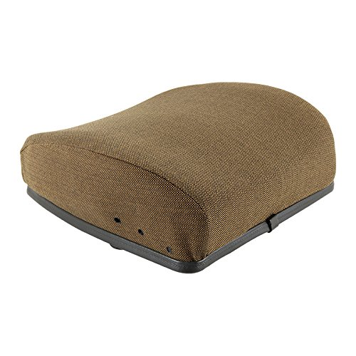 Backrest Hydraulic or Mechanical Seat Fabric Brown for John Deere 6600 4255 2355 4455 7720 4840 4030 4040 4430 4440 4850 8430 4055 4755 7200 4250 4650 6620 7700 9400 2750 4050 4230 4240 4450 4630 4640 by Complete Tractor