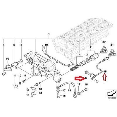 BMW OEM Camshaft Position Sensor - Intake E39 E46 E53 E60 E83 E85 Z3 525i 528i 530i 320i 323Ci 323i 325Ci 325i 325xi 328Ci 328i 330Ci 330i 330xi X5 3.0i 525i 530i X3 2.5i X3 3.0i Z4 2.5i Z4 3.0i Z3 2.5 Z3 2.5i Z3 2.8 Z3 3.0i: Automotive