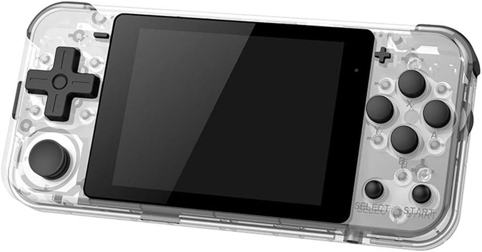 zkm POWKIDDY Q90 Open Dual-System-Handheld-Retro-Spielekonsole 16 Simulator Weiß Weiß
