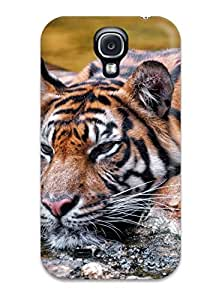 New Arrival Sumatran Tiger Cooling Off For Galaxy S4 Case Cover