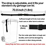 Genleas Cover Secure Lock Straps with Key and
